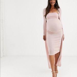 ASOS Maternity Dress Set for Baby Shower